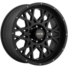 "Vision 412 Rocker 18x9 5x5"" -12mm Satin Black Wheel Rim 18"" Inch"