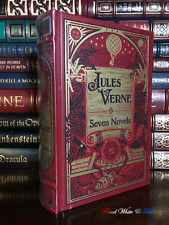 Jules Verne Novels New Sealed Leather Bound 20,000 Leagues Under the Sea Journey