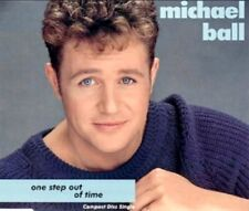 Eurovision UNITED KINGDOM 1992 MICHAEL BALL One Step Out Of Time - CD single
