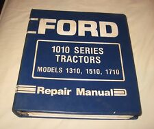 Ford 1310 1510 & 1710 & 1710 Offset Tractor Repair Manual in Ford 3 Ring Binder