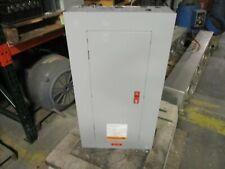 Ge Main Breaker Circuit Breaker Panel 100A Max 3Ph 4W Used