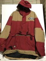 Men's RARE Tommy Hilfiger Board Sports 1/2 Zip Hooded Pullover jacket Size Large