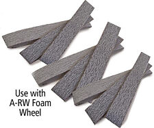 "Aluminum oxide belt 4"" dia x 1"" w,1000 grit, 10 pk"