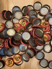 Shiner Bock Beer Bottle Caps Lot Of 100 Crafts Art Perfect No Dents