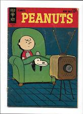 PEANUTS #1 [1963 GD+] TELEVISION COVER!   GOLD KEY COMICS