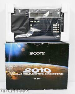 Sony ICF-2010 Shortwave Radio AM FM SSB CW Receiver w/ Documents **COLLECTOR'S**