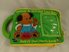 Soft Play Baby's Own Photo Book Plush