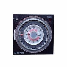 A-TB72Q Time Clock Quartz Battery Backup Timer For Saltwater Chlorinators