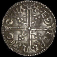 More details for aethelred ii hammered silver penny helmet type oxford mint