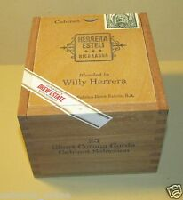 Drew Estate Herrera Esteli Short Corona Gorda Wooden Cigar Box