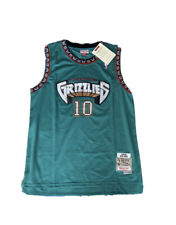 NWT Men's Mike Bibby Vancouver Grizzlies Throwback Jersey