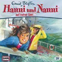 ENID BLYTON - HANNI UND NANNI-39/AUF HOHER SEE  CD  KINDERÖRSPIEL  NEU