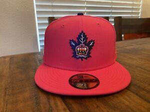 "TORONTO MARLIES AHL ""SUMMER ENERGY"" NEW ERA MY FITTEDS CAP 7 5/8 Maple Leafs"