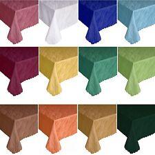 DAMAST Tischdecke Marmor-Design Jacquard Tafeltuch Tischtuch ECKIG Viele Größen!