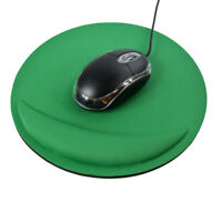 Round Anti Slip Gel Wrist Rest Support Game Mouse Mice Mat Pad For PC Laptop
