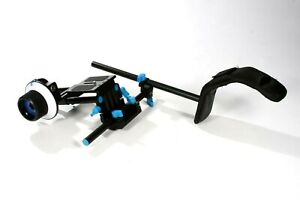 DSLR Camcorder Camera  Rig with Follow Focus