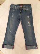 Hard Tail Woman's Capri Jeans - Size 26