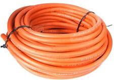 (7,99 €/m) 25m Schweißkabel rund Kabel rot ummantelt PVC 200V 217A high flex