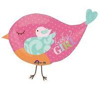 Tweet Chic BABY GIRL Bird Gender Reveal Cute Party Decoration Balloon