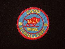BOY SCOUT   CAMP SCHOELLKOPF  1953 PP  BUFFALO A.C. NY