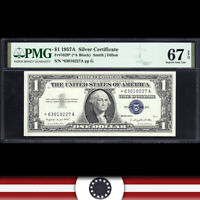1957-A $1 SILVER CERTIFICATE *STAR REPLACEMENT* PMG 67 EPQ  Fr 1620* *63010227A