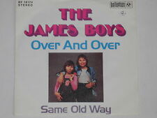 "THE JAMES BOYS -Over And Over- 7"" 45"