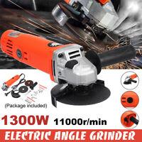 1300W 220V Kit di Smerigliatrice Lucidatrice Angolare Electtrica M10 100mm
