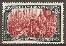 1900 German offices in Turkey  25 Piaster issue mint* type II, € 260.00