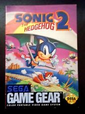 Sonic the Hedgehog 2 Instruction Manual for Sega Game Gear