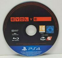 Evolve PS4 PlayStation 4 Sony Game  Disc Only  **Same Day Dispatch**
