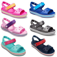 Crocs Crocband Sandals Kids Boys Girls Summer Holiday Beach Children Strap Shoes