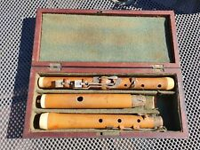 More details for antique circa 1817 monzani & co 24 dover st london 7 keyed ivory boxwood flute