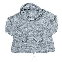 Athleta Blissful Cowl Neck Hoodie Sweater Pullover L