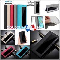 Etui coque housse fenêtre Cuir PU Leather View Wallet Case Huawei P30, P30 Pro