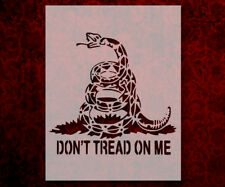 Don't Tread On Me Snake Gadsden Flag 8.5