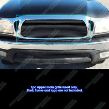 Fits 2001-2004 Toyota Tacoma Center Section Black Billet Grille