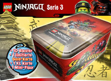 Lego® Ninjago™ Serie 3 Tin Box inkl. Limited Karte 10 booster und Minifigur
