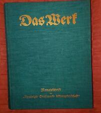 Das Werk XIII.Jahrgang 1933 Werkzeitschrift Vereinigte Stahlwerke AG Düsseldorf
