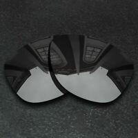 Black Iridium Replacement Lenses For-Oakley Frogskins Sunglasses Frame Polarized