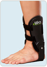Hinged Ankle Support Brace Guard Foot Sprain Injury Strap Sports Immobilise NHS Medium Left