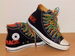 Converse ACDC shoes size 9.5 uk Very Very Rare Limited Edition