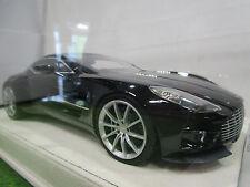 ASTON MARTIN ONE 77 noir GOODWOOD o 1/18 TECHNO MODEL T18M1085 voiture miniature