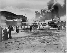 WW2  Photo Pearl Harbor Attack WWII PBY World War Two Hawaii Japanese Attack