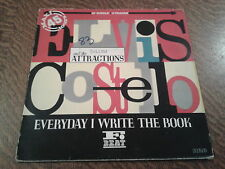 maxi 45 tours elvis costello and the attractions everyday i write the book