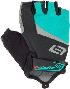 Bellwether Women's Ergo Gel Fingerless Gloves | Aqua | XL