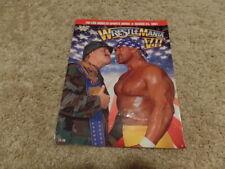 WRESTLEMANIA VII 7 PROGRAM wwf MAGAZINE wrestling W/CATALOG hulk hogan