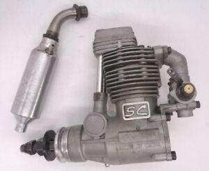 Super Custom 52 4 STROKE AERO IC GLOW ENGINE good clean condition
