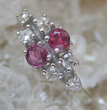 ✨0,18 ct.✨ Brillanten Ring in aus 585 Gold Diamant mit Brillant Turmalin Diamond