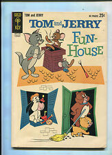 Gold Key Tom And Jerry Fun-House #214 (7.0) File Copy!