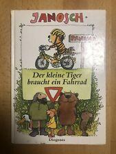 Janosch vier Kinderbücher - Fahrrad - Lügen - Indianer - Strohkopf
